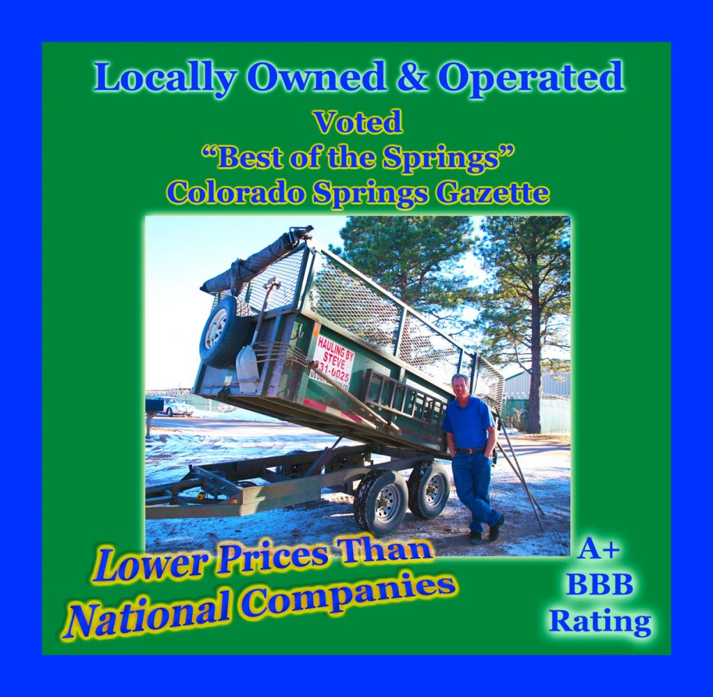 Hauling by Steve Locally Owned and Operated