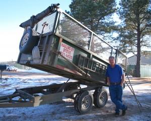 Contact Steve Mulflur, Colorado Springs junk hauling